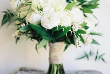 White & Green Bouquets