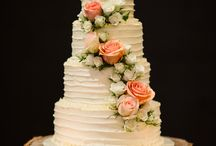 Bryllup mat, kake, drikke