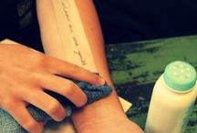 tatoo and temporary