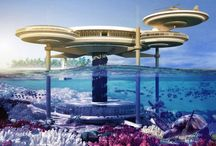 Подводный отельWater Discus в Дубае / Польская архитектурная компания Deep Ocean Technology  разработала проект подводного отеля в Дубае, который станет очередной туристической изюминкой  жемчужины Персидского залива.