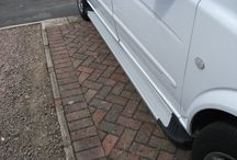 Geoffs Vito Running Boards / Mercedes Fox Running Boards Look Great on Geoffs Vito, You Can Buy Them Today for £119.99 on our Website Here http://www.vanpimps.co.uk/product-category/van-styling/vito/vito-side-styling/