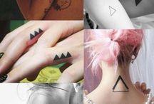 Triangles tattoo