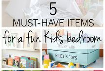Kids bedroom ideas and hacks