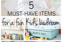 Kids bedroom ideas and hacks