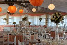 Peach & Ivory Wedding Ideas