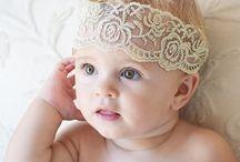 Cintas, Coronas y Diademas para bebés / Hermosos accesorios para nuestros bebés. Gran variedad de estilos, tamaños, colores y diseños.