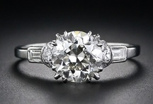 Art Deco Engagement Rings / by Orchid Liu