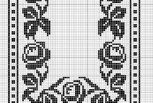 Cross stitch / table cloth