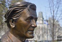 Camille Laurin - Loi 101 Pays-Québec / (Charlemagne, 6 mai 1922 - Vaudreuil-Dorion 11 mars 1999) est un psychiatre et un homme politique québécois. Il a été ministre dans le gouvernement de René Lévesque. Il est connu comme « le père de la Charte de la langue française », la loi 101.