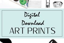 Bathroom Art Prints - Bathroom Decor Ideas / Instant download printables for your bathroom decor that are a convenient and affordable way to spice up YOUR home in an instant with quality products that will WOW your friends and family!