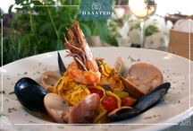 Seafood tastes / Ολόφρεσκα ψάρια και θαλασσινά σε συνδυασμό με τα φρέσκα μυρωδικά και λαχανικά της Κρητικής γης, μαγειρεμένα με αγνό παρθένο ελαιόλαδο και φυσικά με την υπογραφή του σεφ μας!  Fresh fish and seafood combined with fresh herbs and vegetables of the Cretan land, cooked with extra virgin olive oil and of course the signature of our chef!