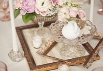 vintage flowers decor