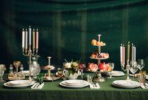 a table by lena hoschek / lena hoschek gestaltet bei uns im shop in der herrengasse 7-9 einen wunderschönen weihnachtstisch.
