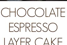 Layer cakes Expresso