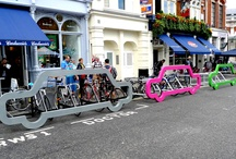 Cyclehoop Style / Cyclehoop is a firm of award-winning designers and architects specialising in producing innovative indoor and outdoor cycle parking infrastructure. http://www.cyclehoop.com/