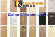 Kitchen Replacement Doors in London / Remodeling a kitchen involves huge expenditure. Instead, one can simply use Kitchen Replacement doors and create a whole new look for the kitchen. These doors are made of a material called rigid thermal foil or RTF, which look like wood but are not as expensive. Moreover, they come in a large range of selection of doors and cabinets.