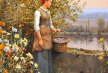 Art Painter Daniel Ridgway Knight