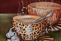 "C O F F E E / The morning cup of coffee has an exhilaration about it which the cheering influence of the afternoon or evening cup of tea cannot be expected to reproduce.  ~Oliver Wendell Holmes, Sr., ""Over the Teacups,"" 1891 / by Barbara Lowrie~Johnston"