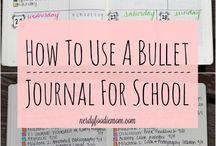 Bulletjournaling