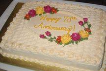 anniversary & birthday cakes