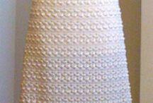 Ideas para Vestido novia Crochet