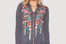 Bohemian tunic