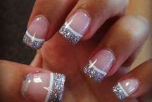 powder glitter nail art gallery by nded / powder glitter nail art gallery by nded