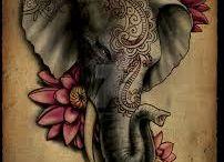 Tetování Slona