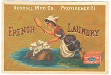 Vintage Laundry Items
