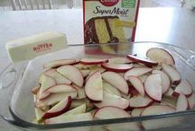 Recipes-- Apples, Apples, Apples / by drkat