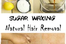 beauty hair removal with sugar \wax