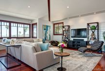 Sunset Cliffs / Custom Furniture Design for beach house by Design Theory Studio