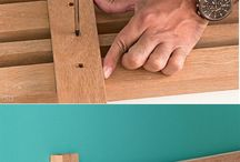 Wood onto wall