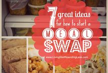 meal swap / by Tosha Hirt