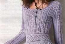tricots dentelle et irlandais / Tricot et crochet