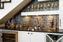 Great Bars / Great ideas for Bars / by Lisa Mende Design = Interior Design