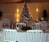 Christmas Crackers / Here's a collection of nice looking Christmassy marquees (most of them NOT ours - it's a nod to the competition!) to give inspiration that a Christmas party in a marquee can be a fantastic event! (and not too cold!)