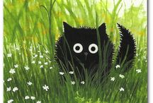 Kočky Obrazy