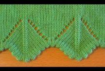 margini tricotate