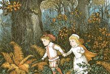 Clásicos de la ilustración infantil: Caldecott, Greenaway, Crane y los demás.