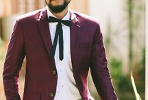 Colored Groom Suits