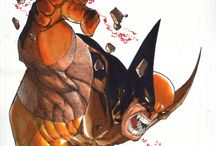 Marvel Wolverine / by Rob Smith