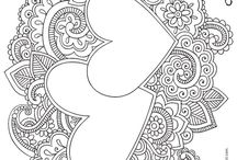 Craft - adult coloring sheet