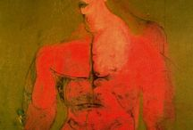 ART *Willem de Kooning * /  Dutch American abstract expressionist artist Willem de Kooning (1904-1997).