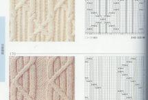 Knitting diagrams