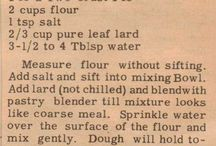 Old recipes