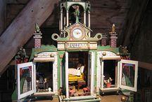 игрушечные дома и замки