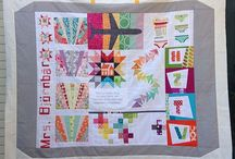 Travelling Quilts / Ideas / Inspiration for quilts that are made while travelling around a group of friends