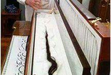 peygamber efendimizin saçı