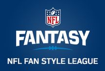 NFL Fan Style Fantasy Football League / This season, NFL Fan Style has drafted 8 diverse voices in football, fashion, and food to our own ultimate Fantasy Football League.